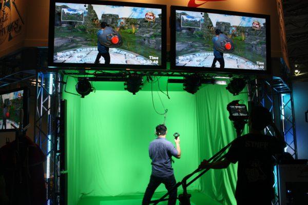 リアルタイムの合成映像で見る人も楽しめるVRゲーム「CIRCLE of SAVIORS」