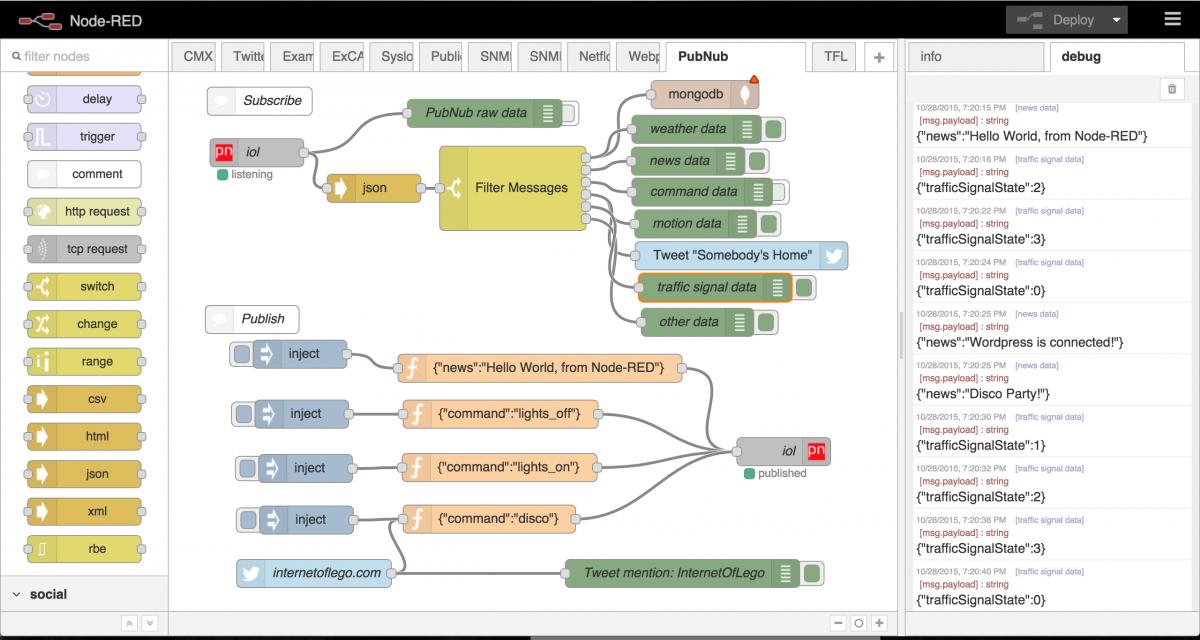 デバイス制御やネットワークアクセスが手軽にできる「Node-RED」プログラミング
