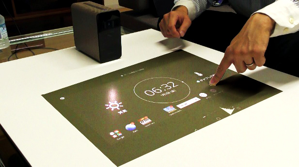「Xperia Touch G1109」体験レポート