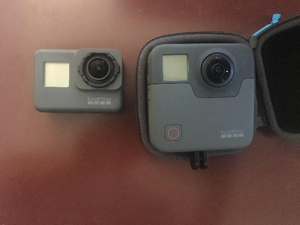 高画質360度カメラ「Go Pro Fusion」