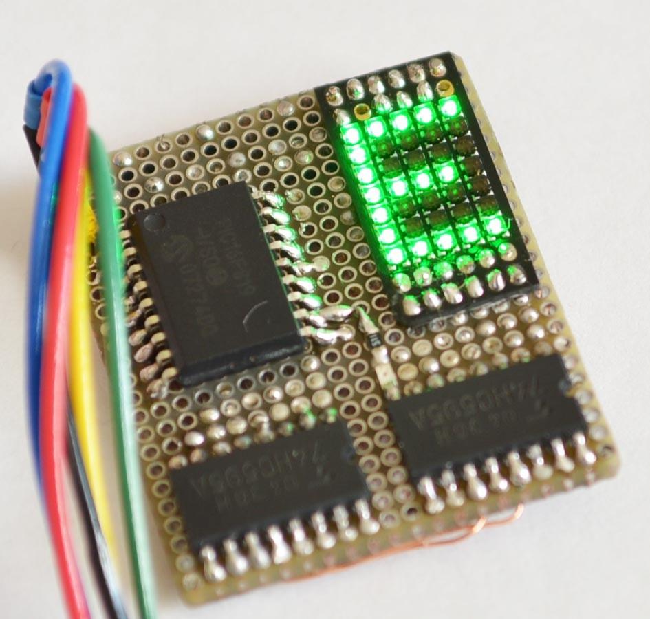 RGB 5×7ドットマトリクスLEDを使うための基礎 【前編】