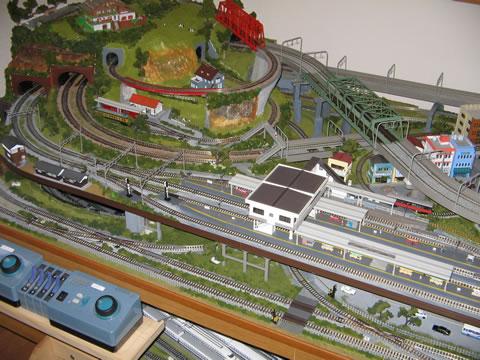 鉄道模型自動運転の実験