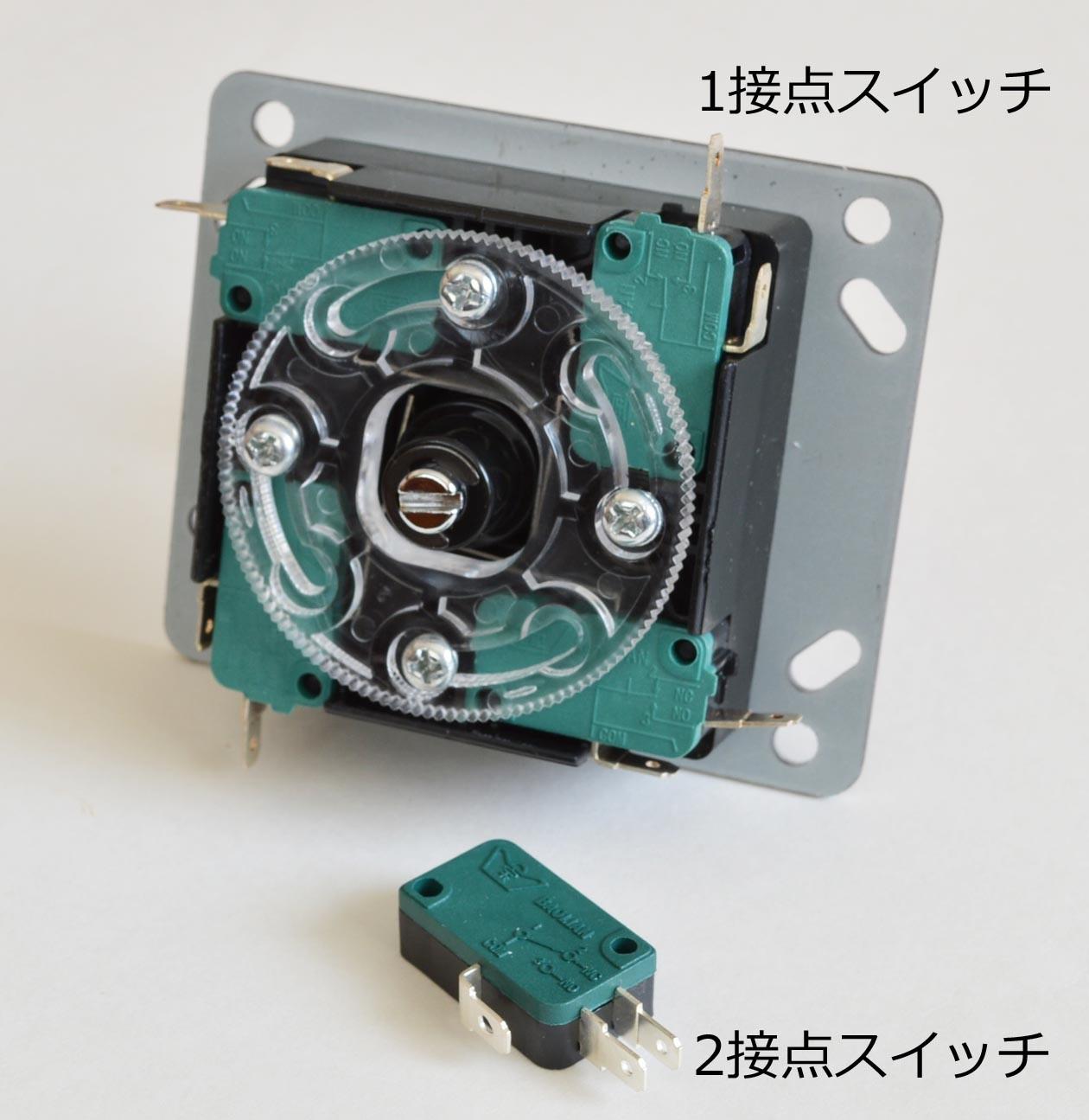 「ダブルモータ制御ジョイスティック有線リモコン」