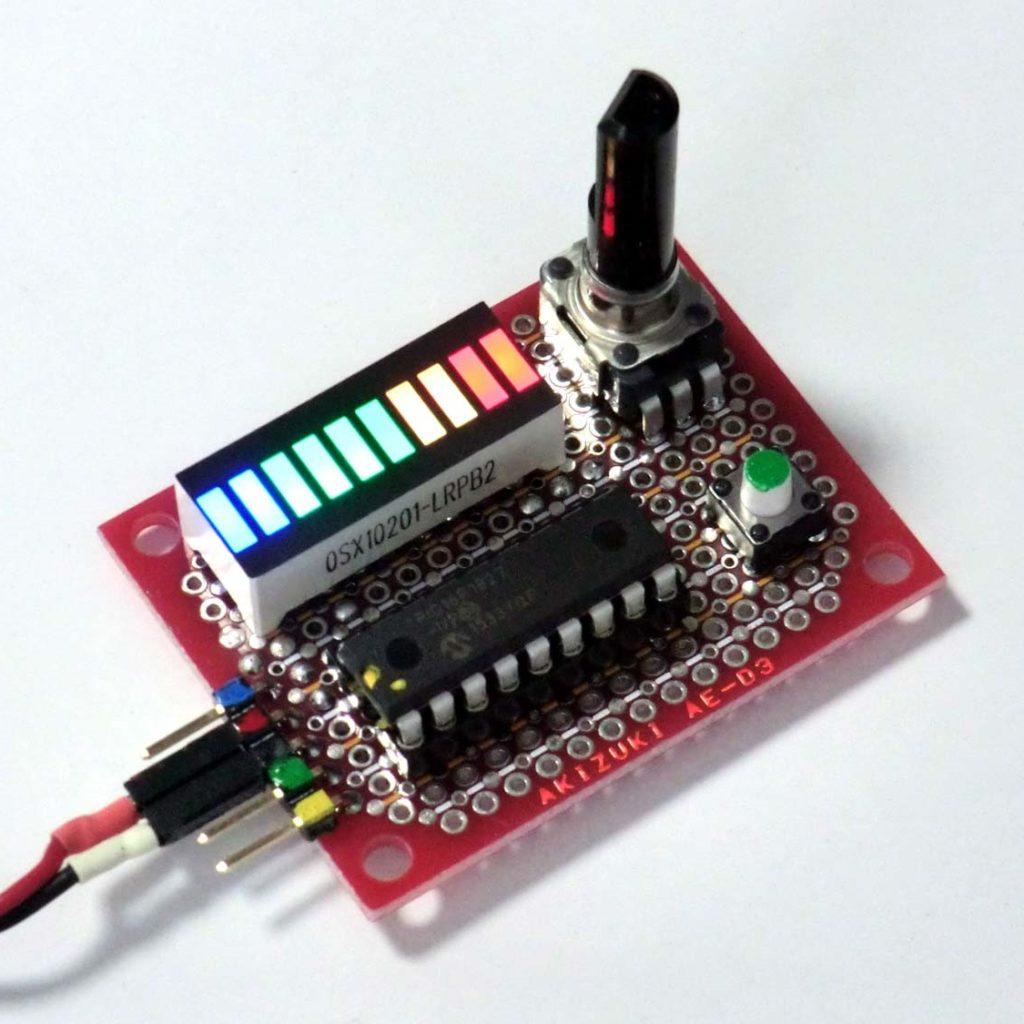 「10ポイントRGB-LED」の点灯実験