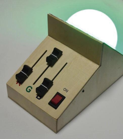 「ルーム演出用RGBライト」の製作 「3WパワーRGB-LED」を使って